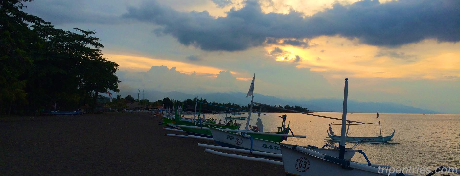 Поездка на север Бали — Ловина