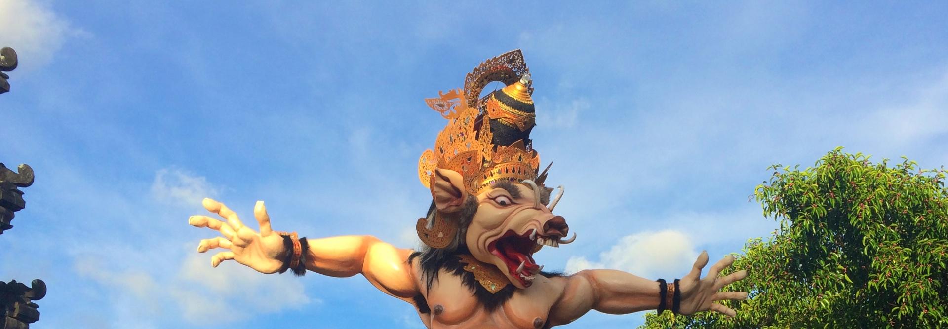 Новый Год на Бали: Ужасающий парад Ого-Ого и День Тишины