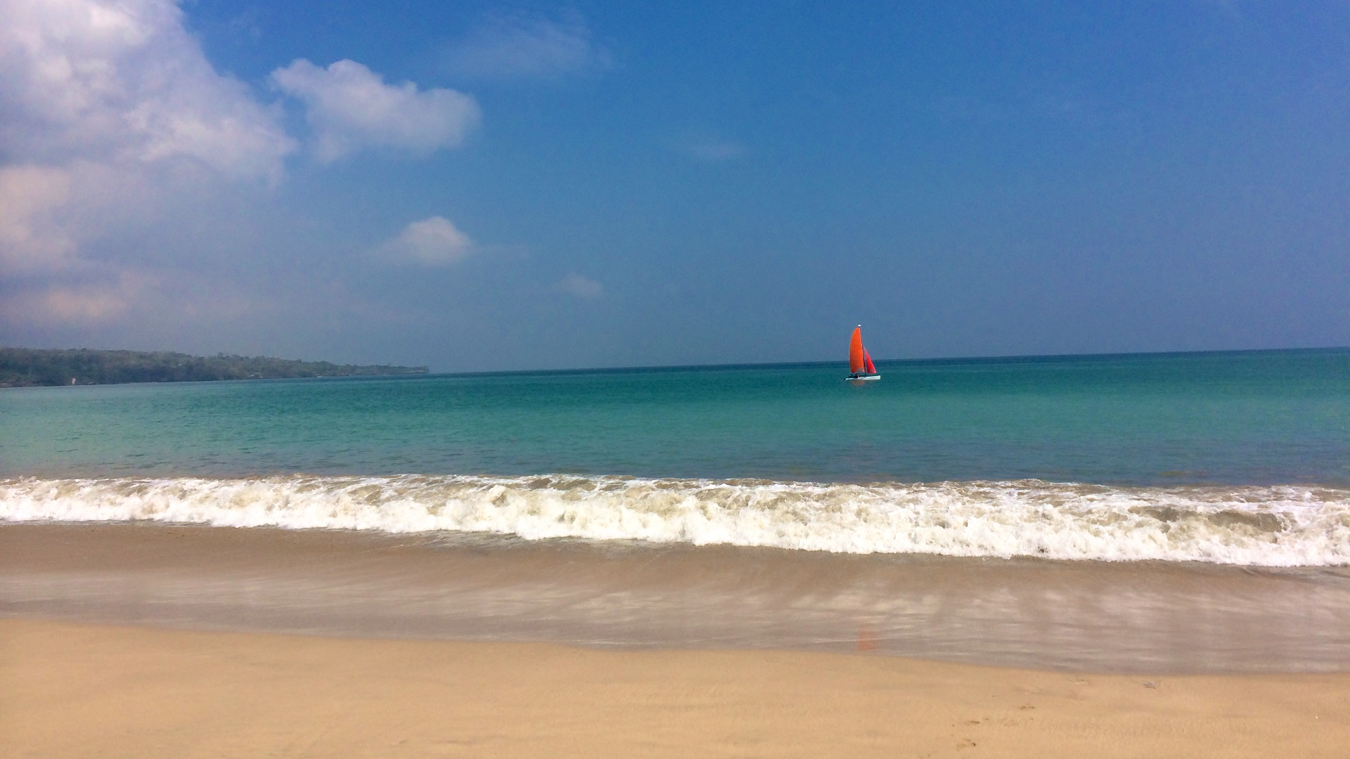 Пляжи Бали — Jimbaran beach